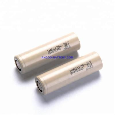 Samsung INR21700-30T 3000mAh Lithium-ion Battery