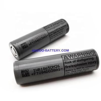 LG 18650 M26 2600mAh Lithium-ion Battery